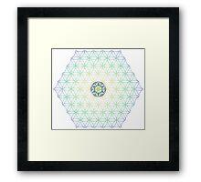 Eclipse Matrix - 372/391 Year Cycle Framed Print