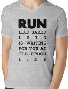 RUN - Jared Leto Mens V-Neck T-Shirt