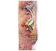 Mosteiro da Batalha. The Stone Art of Master Architects Knight Templars. Poster