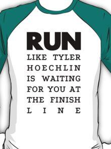 RUN - Tyler Hoechlin T-Shirt