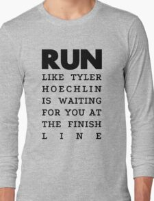 RUN - Tyler Hoechlin Long Sleeve T-Shirt