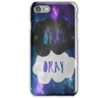 Okay Okay Galaxy iPhone Case iPhone Case/Skin