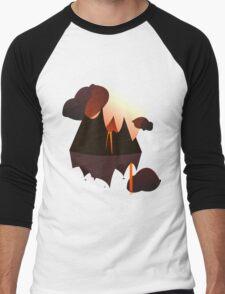 Mordor in the Sky Men's Baseball ¾ T-Shirt
