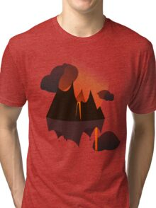 Mordor in the Sky Tri-blend T-Shirt