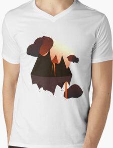 Mordor in the Sky Mens V-Neck T-Shirt