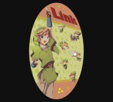 Legend of Zelda: Link time Kids Tee
