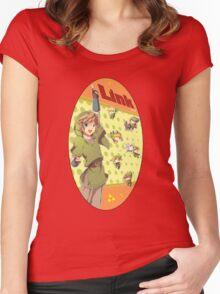 Legend of Zelda: Link time Women's Fitted Scoop T-Shirt