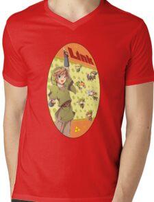 Legend of Zelda: Link time Mens V-Neck T-Shirt