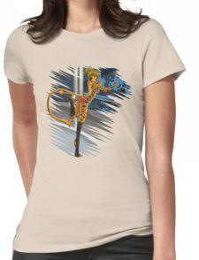 Love cat girls Womens Fitted T-Shirt