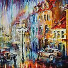 RAINY 1930  by Leonid  Afremov