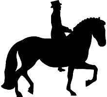 Dressage Horse Photographic Print
