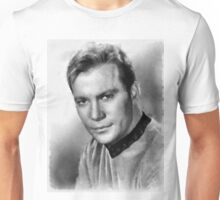 William Shatner by John Springfield Unisex T-Shirt