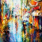 BLURRY MEMORY by Leonid  Afremov