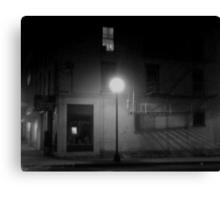 Midnight in Noirsville Canvas Print