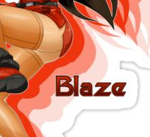 Blaze Fielding: Streets of Rage Sticker