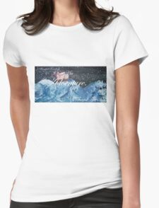 I Found The Sea. Womens Fitted T-Shirt
