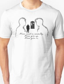 Doctor Who - Never cruel or cowardly T-Shirt