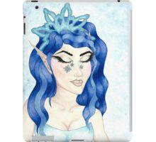 December - Elf - Snowflake - Princess - Snow iPad Case/Skin