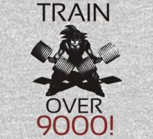 Train over 9000-BW by m4x1mu5