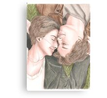 The fault in our stars drawing Canvas Print