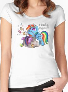 Easter Egghead Women's Fitted Scoop T-Shirt