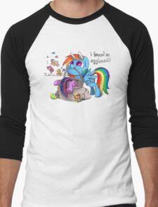 Easter Egghead Men's Baseball ¾ T-Shirt