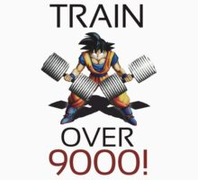 Train over 9000 by m4x1mu5