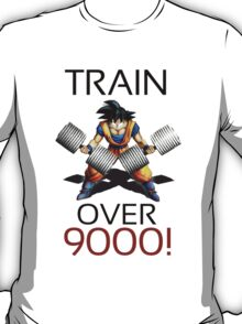Train over 9000 T-Shirt