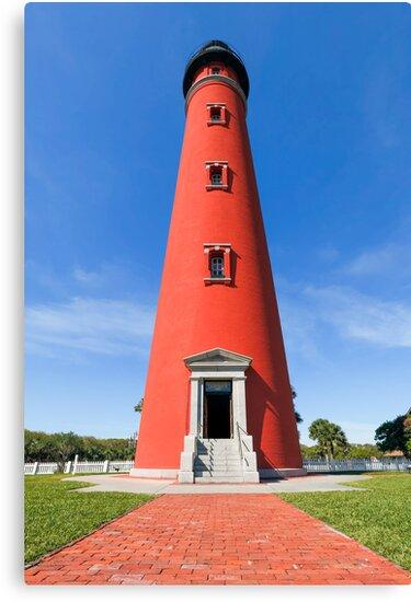 Ponce de Leon Inlet Lighthouse by Kenneth Keifer