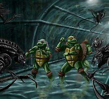 TMNT Vs. Aliens by Brian J. Murphy
