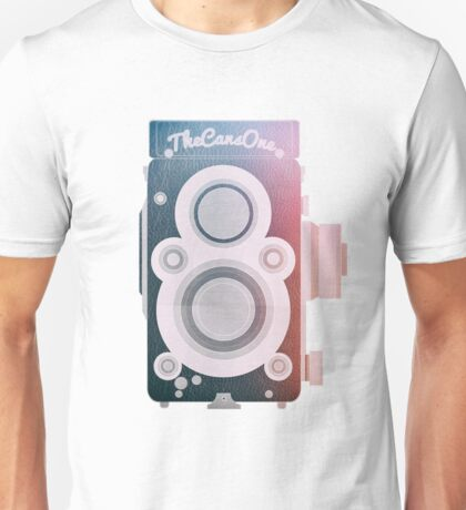Twin Lens Reflex Camera _ Photography Addicted Unisex T-Shirt