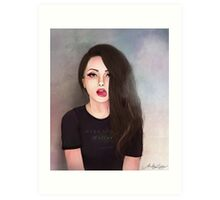 Mary Jane Holland Art Print