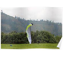 Landing a Para Glider Poster