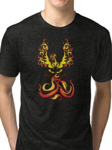 Tribal Moltres Tri-blend T-Shirt