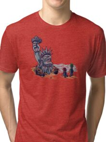 The Planet of the Kong Tri-blend T-Shirt
