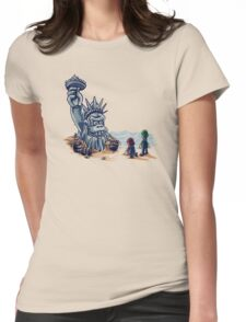 The Planet of the Kong Womens Fitted T-Shirt