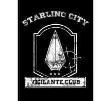 Starling City Vigilante Club Photographic Print