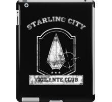 Starling City Vigilante Club iPad Case/Skin