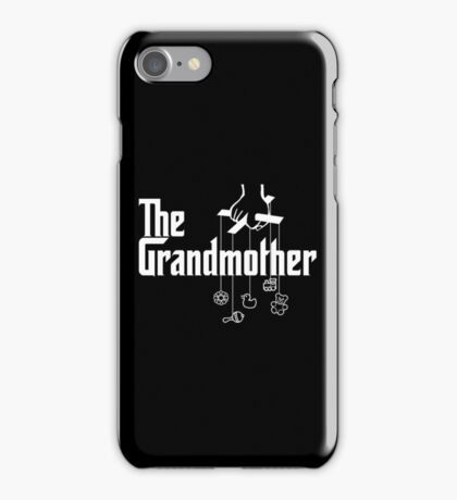 The Grandmother - Mafia Movie Spoof iPhone Case/Skin