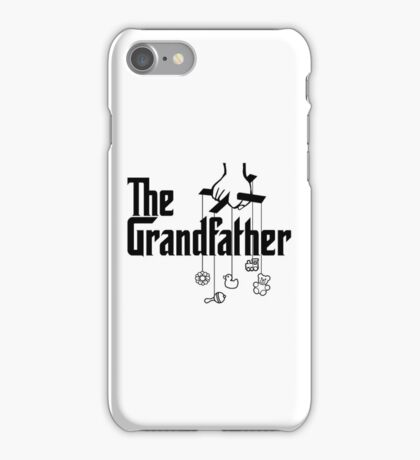 The Grandfather - Mafia Movie Spoof iPhone Case/Skin