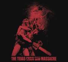 THE TEXAS CHAIN SAW MASSACRE (Red) T-Shirt by horrorkid