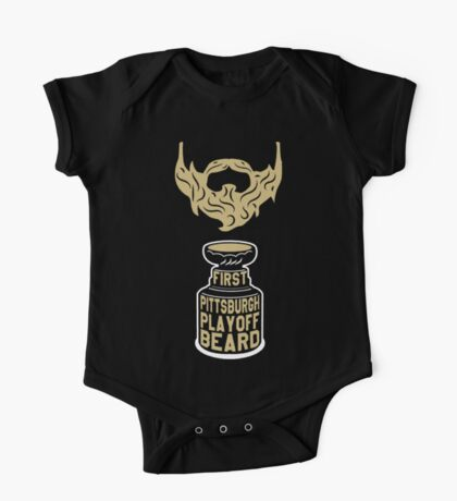 First PITTSBURGH Playoff Beard One Piece - Short Sleeve