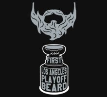 First LOS ANGELES Playoff Beard by pointandthread