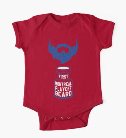 First MONTREAL Playoff Beard One Piece - Short Sleeve