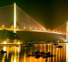 cable stayed bridge by NGUYENKHACTHANH