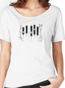 Piano River Women's Relaxed Fit T-Shirt