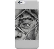 Boy Behind a Fence iPhone Case/Skin