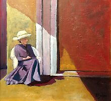 Sherry on the Porch by Phyllis Dixon