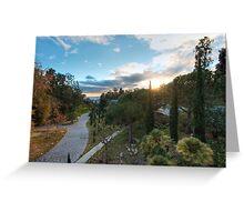 Malibu Sunset Greeting Card