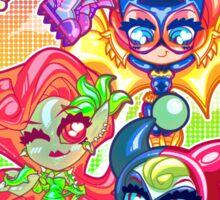 Chibi Gotham Girls Sticker